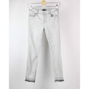 Ann Taylor Jeans Modern Fit Skinny Distressed